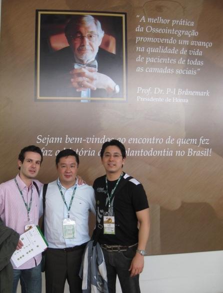 Congresso internacional comemora os 20 anos da osseointegração no Brasil