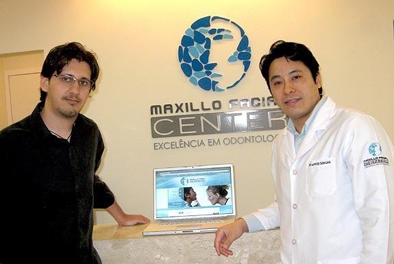 Site da Maxillo Facial Center é citado na Folha de Londrina
